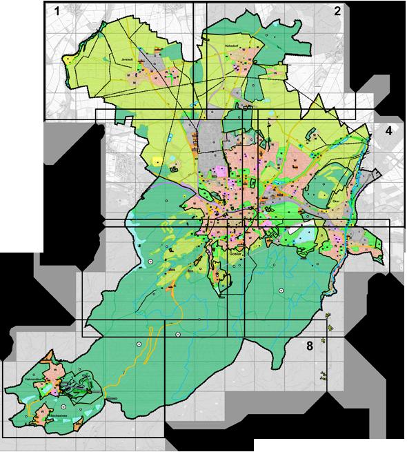 Goslar Karte.Bereich Goslar Goslar Am Harz Unesco Weltkulturerbe