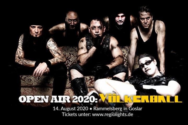 Miner's Rock Open Air 2020 mit Völkerball