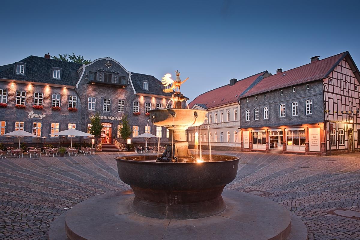 sehensw rdigkeiten rund um den markt goslar am harz unesco weltkulturerbe. Black Bedroom Furniture Sets. Home Design Ideas